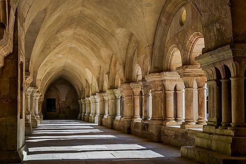 Cloister Arcade, Fontenay Abbey, Burgundy, France