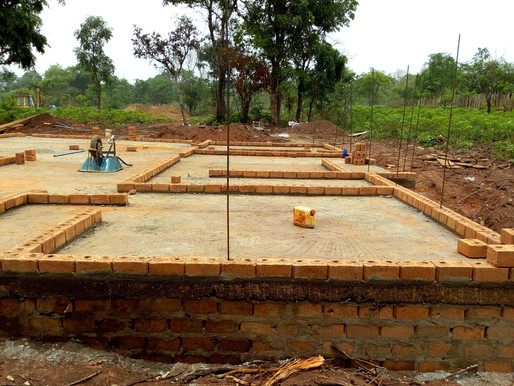 Experience of building with Red Bricks in Nigeria