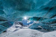 Melting Glacier Bridge
