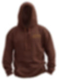The Historic Brown Hoodie - front