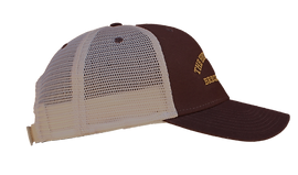 The Historic Brown Trucker Cap - side