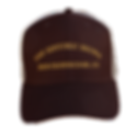 The Historic Brown Trucker Cap - front