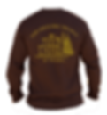 The Historic Brown Long Sleeved T-Shirt - back