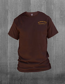 The Historic Brown T-Shirt - front