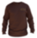 The Historic Brown Long Sleeved T-Shirt - front