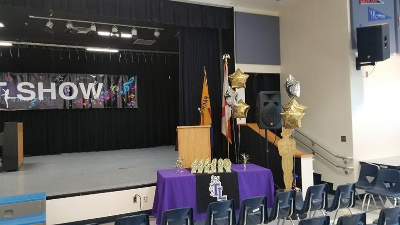 Talent Show Set-Up