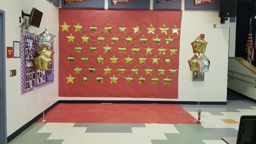 Golden Stars Wall of Fame