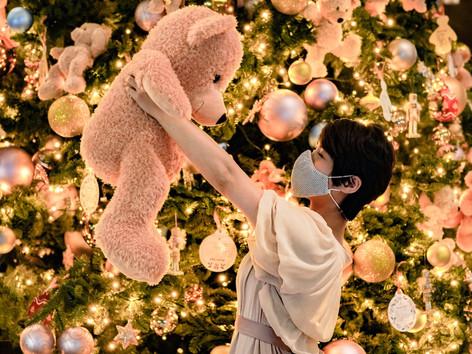 Ritz-Carlton Christmas   與友在103樓吃下午茶   回家過聖誕Ritz-Carlton外送和牛斧頭扒聖誕大餐