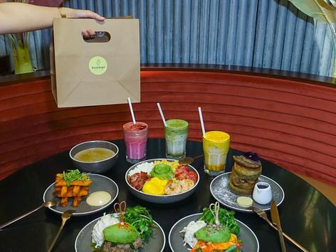 Avobar 牛油果主題餐廳推出優惠外賣自取套餐   三色400次健康特飲 倫敦人氣superfood餐廳進駐K11 MUSEA