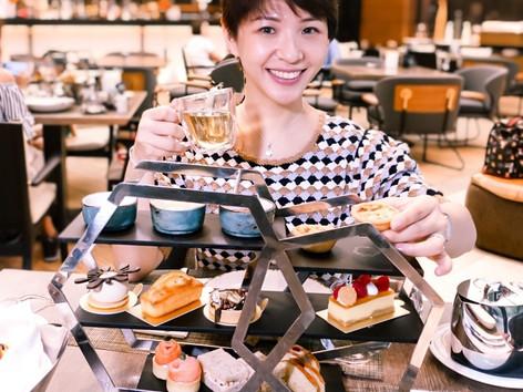 海洋公園萬豪酒店Pier酒廊「歎.夏」   Pier Lounge Tea Set with HARNN hand treatment   三折嘆二人下午茶加泰國品牌HARNN二人手部護理