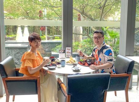 香港數碼港艾美酒店日式餐廳Umami | Le Méridien Cyberport | 園林魚池日式午餐