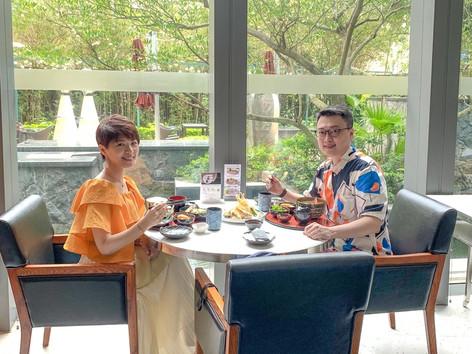 香港數碼港艾美酒店日式餐廳Umami   Le Méridien Cyberport   園林魚池日式午餐