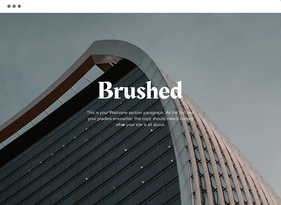 Website designs by colossal