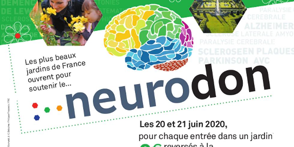 Jardins Ouverts au profit de la Fédération pour la Recherche sur le Cerveau