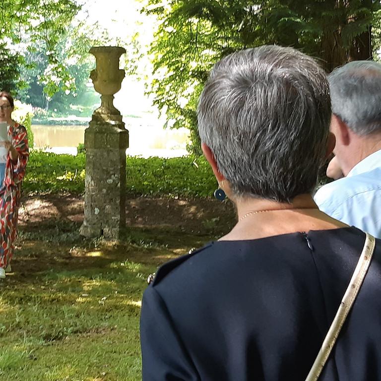 Visite du parc commentée par la propriétaire - Samedi 18/09 à 15h - Dimanche 19-09 à 11h