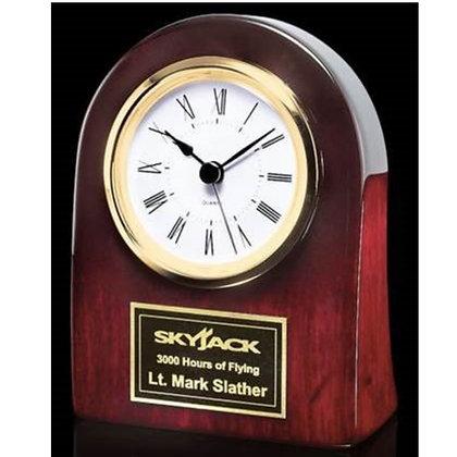 "Dexter 4.5"" Rosewood Clock"