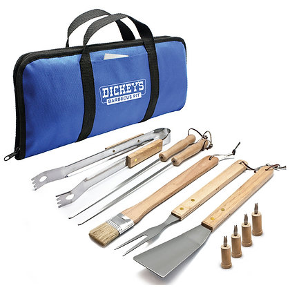 11pc BBQ Tool Set