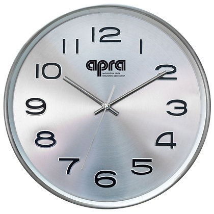 "Stainless Steel 10"" Wall Clock"