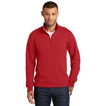 Port & Company® Fan Favorite™ Fleece 1/4-Zip Pullover Sweatshirt