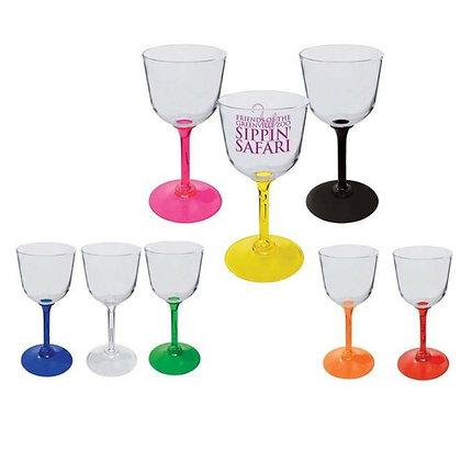 7oz. Standard Stem Acrylic Wine Glass