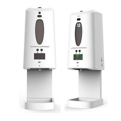 Automatic No Touch Temperature and Sanitizer Dispenser Station