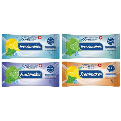 Anti-bacterial Pocket Wet Wipes