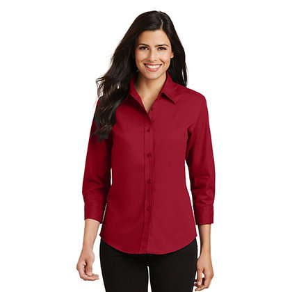 Port Authority Ladies' 3/4 Sleeve Easy Care Shirt