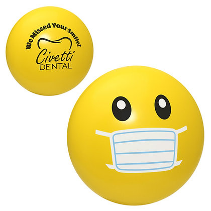 Emoji Face Mask Stress Reliever
