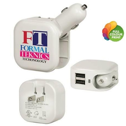 2-in-1 Dual Device Port Charger