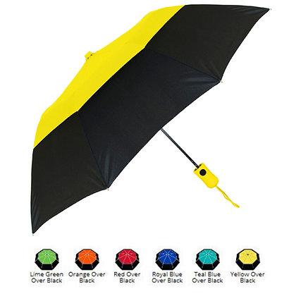 The Vented Color Crown Umbrella