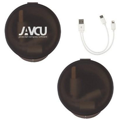 3-in-1 Charging Cable in Travel Case