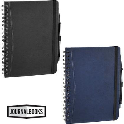 Pedova™ Large Wire Bound Spiral JournalBook™