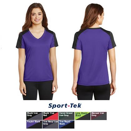 Sport-Tek Ladies V-Neck PosiCharge Competitor Tee
