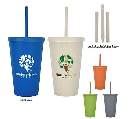16oz. Newport Harvest Travel Tumbler