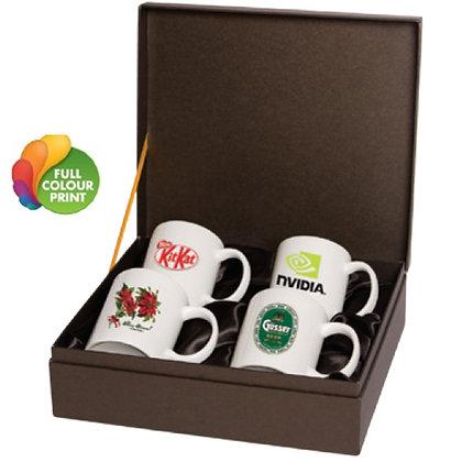 4pc Sublimatable Mug Set in Gift Box