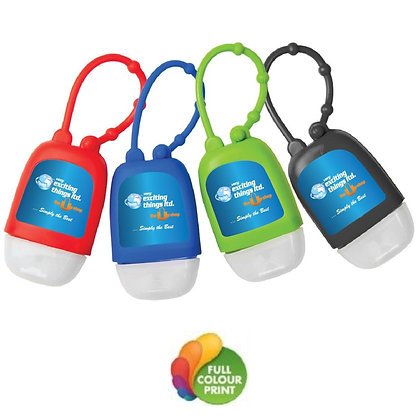 1oz Hand Sanitizer in Silicone Case with Strap