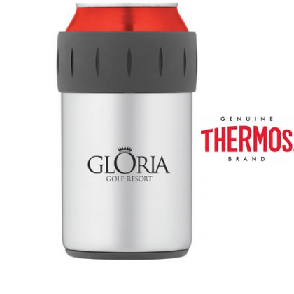 Thermos 12oz Stainless Steel Beverage Can Insulator