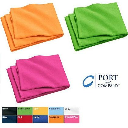 Port & Co. Beach Towel