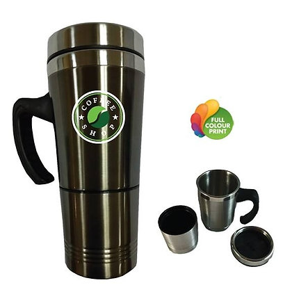 Ready-To-Roll 2 in 1 Travel Mug