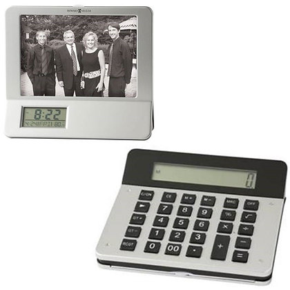 Calculator Photoframe with Clock