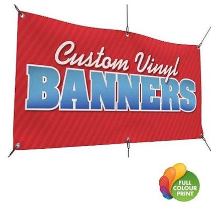 Full Colour Vinyl Gloss Banner with Grommets