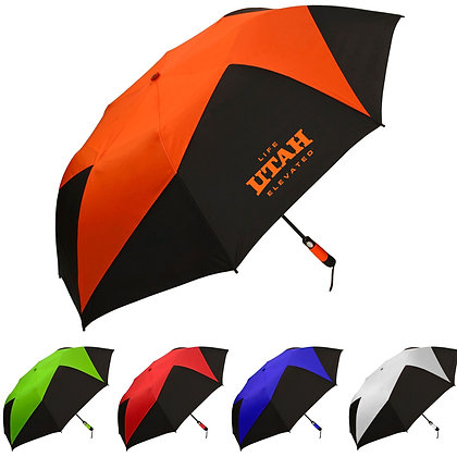 The Vented Pinwheel Umbrella
