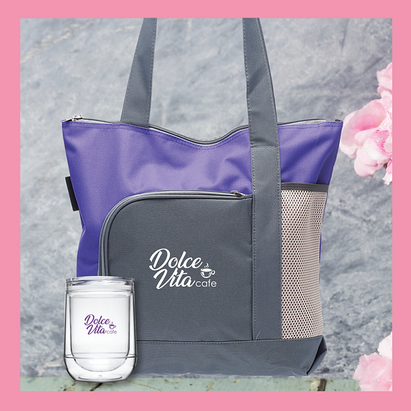 Go Getter Tote Bag and 10oz Bumble Doubl