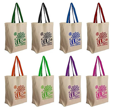 The Brunch Cotton Grocery Tote