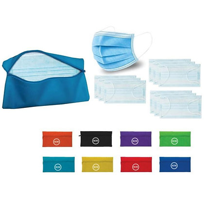 10 Disposable Masks in Essential Case