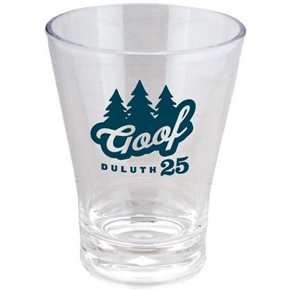 12oz Short Acrylic Fluted Tumbler