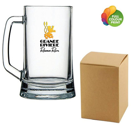 Glass Pub Mug In Gift Box