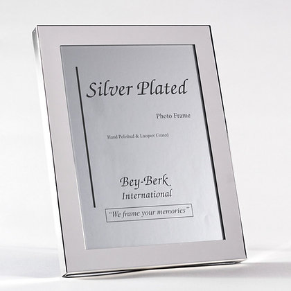 """Silver Plated  5"""" x 7""""  Photo Frame"""