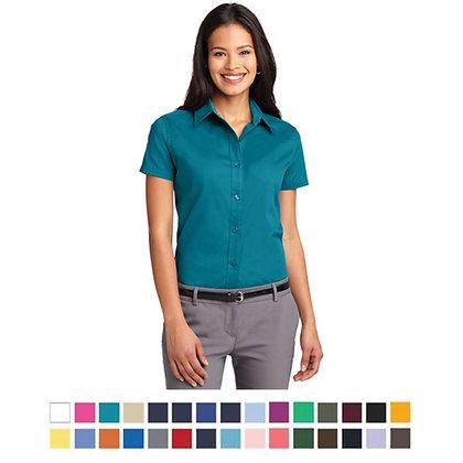 Ladies' Short Sleeve Easy Care Shirt