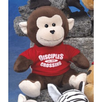 """9"""" Q-Tee Collection Monkey"""